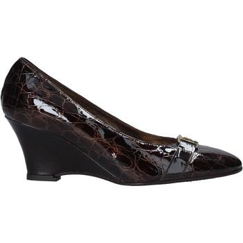 Sko Dame Højhælede sko Confort 7558 Brun