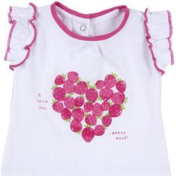 textil Pige T-shirts m. korte ærmer Chicco 09067088000000 hvid