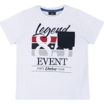 textil Børn T-shirts m. korte ærmer Chicco 09067252000000 hvid