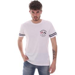 textil Herre T-shirts m. korte ærmer Navigare NV31123 hvid