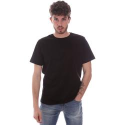 textil Herre T-shirts m. korte ærmer Navigare NV71003 Sort