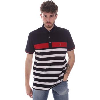textil Herre Polo-t-shirts m. korte ærmer Navigare NV70028 Blå