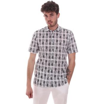 textil Herre Skjorter m. korte ærmer Antony Morato MMSS00169 FA430473 hvid