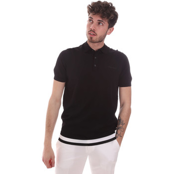 textil Herre Polo-t-shirts m. korte ærmer Antony Morato MMSW01174 YA500057 Sort