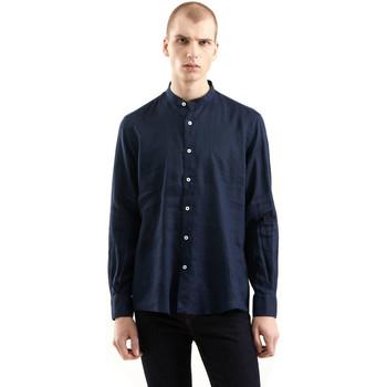 textil Herre Skjorter m. lange ærmer Refrigiwear RM0C10100LI9110 Blå