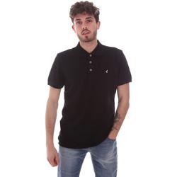 textil Herre Polo-t-shirts m. korte ærmer Navigare NV82108 Sort