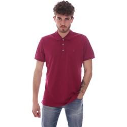 textil Herre Polo-t-shirts m. korte ærmer Navigare NV82108 Rød