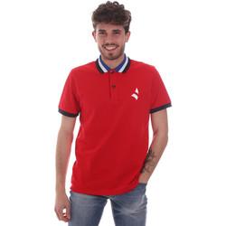textil Herre Polo-t-shirts m. korte ærmer Navigare NV82116 Rød