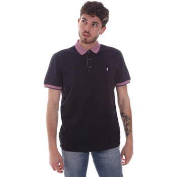 textil Herre Polo-t-shirts m. korte ærmer Navigare NV82125 Blå