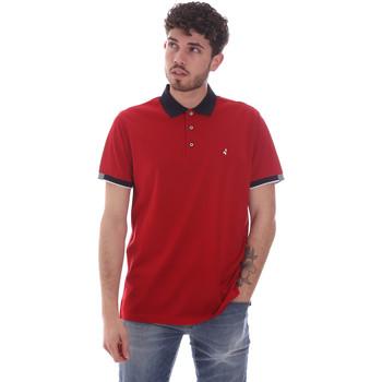 textil Herre Polo-t-shirts m. korte ærmer Navigare NV72058 Rød