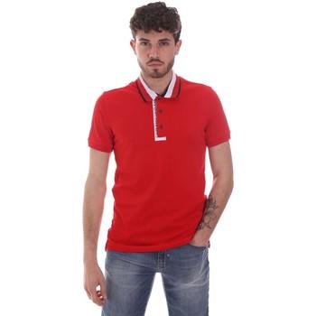 textil Herre Polo-t-shirts m. korte ærmer Gaudi 111GU64105 Rød
