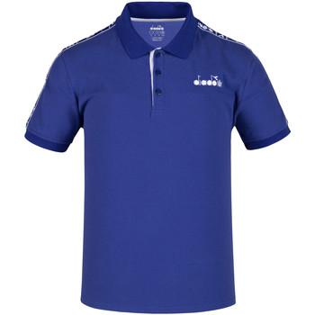 textil Herre Polo-t-shirts m. korte ærmer Diadora 102175672 Blå