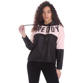 textil Dame Sweatshirts Freddy S1WSDS9 Sort