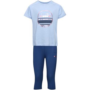 textil Børn Sæt Diadora 102175918 Blå