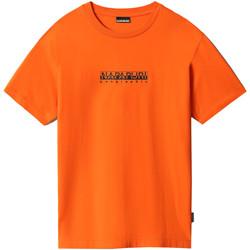 textil Dame T-shirts m. korte ærmer Napapijri NP0A4FF5 Orange