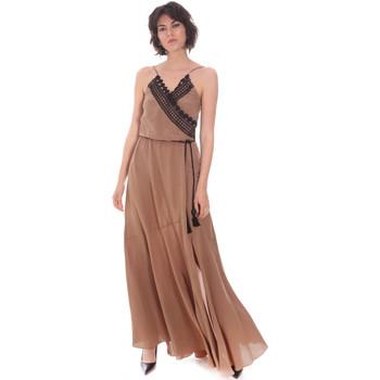 textil Dame Lange kjoler Cristinaeffe 0704 2498 Beige