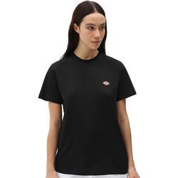 textil Dame T-shirts m. korte ærmer Dickies DK0A4XDABLK1 Sort