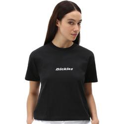 textil Dame T-shirts m. korte ærmer Dickies DK0A4XBABLK1 Sort