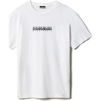 textil T-shirts m. korte ærmer Napapijri NP0A4FF5 hvid