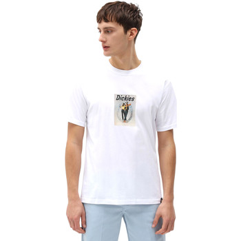 textil Herre T-shirts m. korte ærmer Dickies DK0A4X9IWHX1 hvid