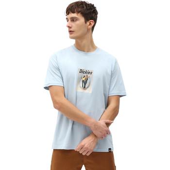 textil Herre T-shirts m. korte ærmer Dickies DK0A4X9IB551 Blå