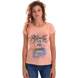 textil Dame T-shirts m. korte ærmer Key Up 5D59S 0001 Orange