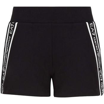 textil Dame Shorts Ea7 Emporio Armani 3KTS59 TJ5FZ Sort