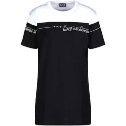 textil Dame T-shirts m. korte ærmer Ea7 Emporio Armani 3KTT59 TJBEZ Sort