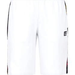 textil Herre Badebukser / Badeshorts Ea7 Emporio Armani 3KPS81 PJ05Z hvid