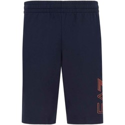textil Herre Shorts Ea7 Emporio Armani 3KPS57 PJ05Z Blå