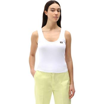 textil Dame Toppe / T-shirts uden ærmer Dickies DK0A4XB9WHX1 hvid