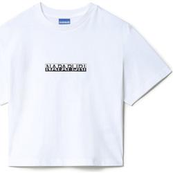 textil Dame T-shirts m. korte ærmer Napapijri NP0A4EYZ hvid