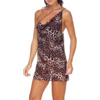 textil Dame Korte kjoler Me Fui M20-0456X1 Brun