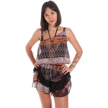 textil Dame Buksedragter / Overalls Me Fui M20-0060X1 Brun