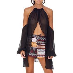 textil Dame Toppe / Bluser Me Fui M20-0053NR Sort