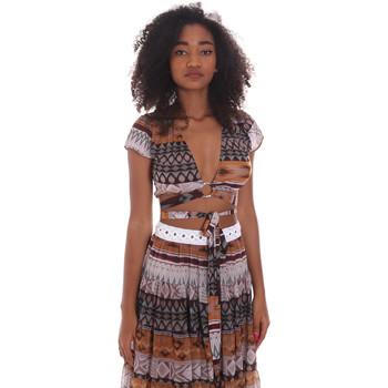 textil Dame Toppe / Bluser Me Fui M20-0051X1 Brun