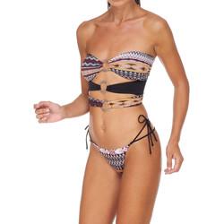 textil Dame Bikini Me Fui M20-0003X1 Brun