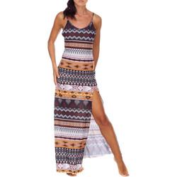 textil Dame Lange kjoler Me Fui M20-0080X1 Brun