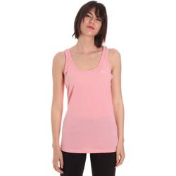textil Dame Toppe / T-shirts uden ærmer Diadora 102175885 Lyserød