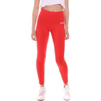 textil Dame Leggings Diadora 102175702 Rød