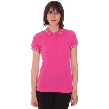 textil Dame Polo-t-shirts m. korte ærmer Diadora 102161015 Lyserød
