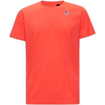 textil Herre T-shirts m. korte ærmer K-Way K007JE0 Rød