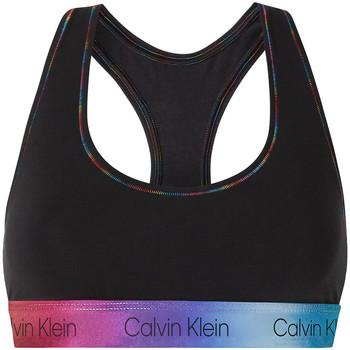 textil Dame Sports-BH Calvin Klein Jeans 000QF6538E Sort