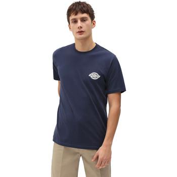 textil Herre T-shirts m. korte ærmer Dickies DK0A4XENNV01 Blå