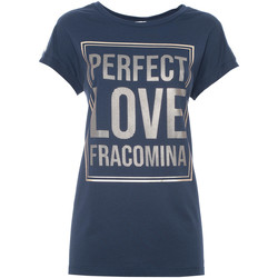 textil Dame T-shirts m. korte ærmer Fracomina FR21ST3012J40615 Blå