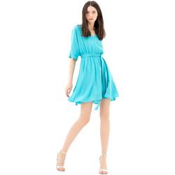 textil Dame Korte kjoler Fracomina FR21SD1024W42801 Blå