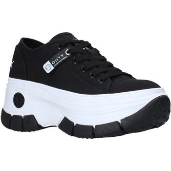 Sko Dame Lave sneakers Onyx S21-S00OX010 Sort