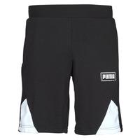 textil Herre Shorts Puma RBL SHORTS Sort / Hvid