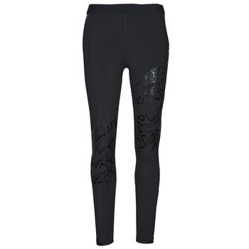 textil Dame Leggings Puma UNTAMED PRINT TIGHT Sort