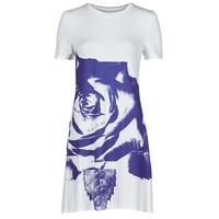 textil Dame Korte kjoler Desigual WASHINTONG Hvid / Blå